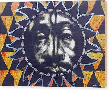 Oakland Sunshine Wood Print by Chester Elmore