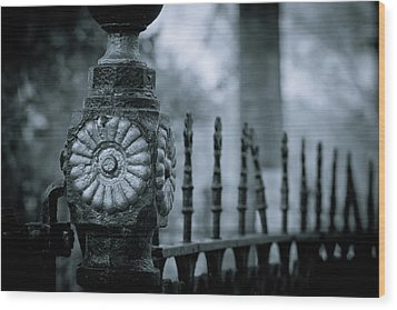 Wood Print featuring the photograph Oakwood Cemetery by Linda Unger