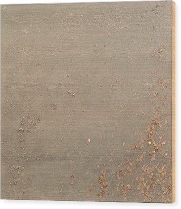 Oatmeal Wood Print by Melissa Sadoff Oren