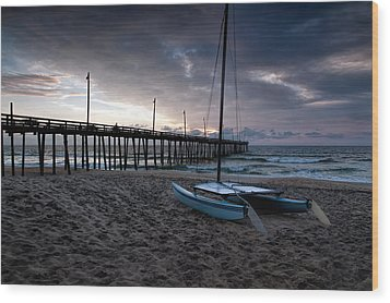 Obx Morning Wood Print