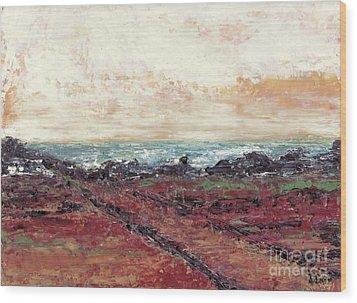 Ocean 2 Wood Print