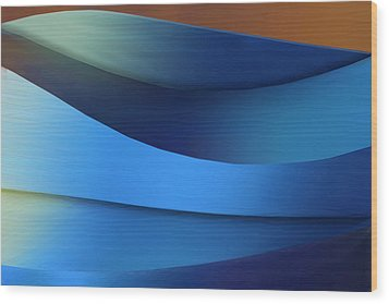 Wood Print featuring the photograph Ocean Breeze by Paul Wear