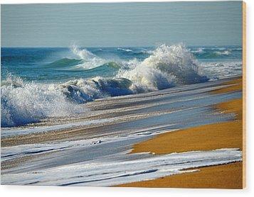 Ocean Delight Wood Print by Dianne Cowen