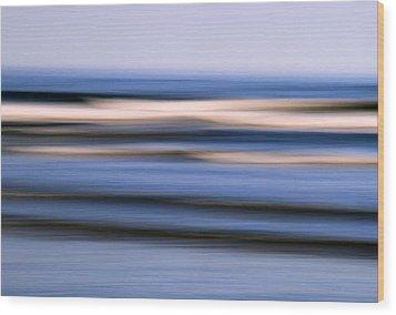 Ocean Dream Wood Print by Doug Hockman Photography