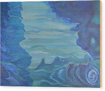 Ocean Dream Wood Print by Lindie Racz