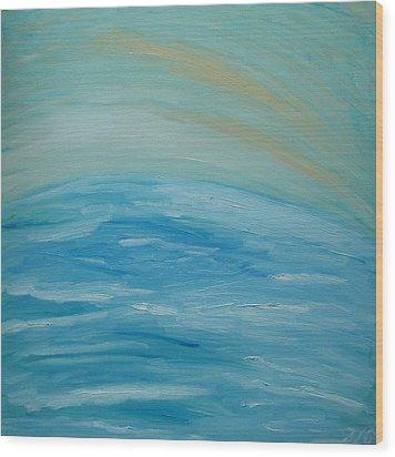 Ocean. Fantasy 29. Wood Print