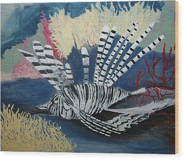 Ocean Fish Wood Print