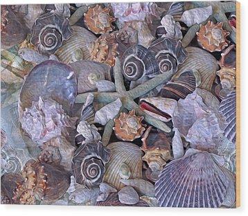 Ocean Gems 11 Wood Print
