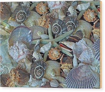 Ocean Gems 5 Wood Print
