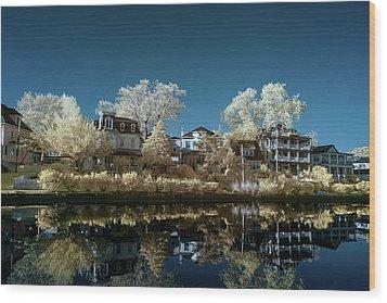 Ocean Grove Nj Wood Print by Paul Seymour