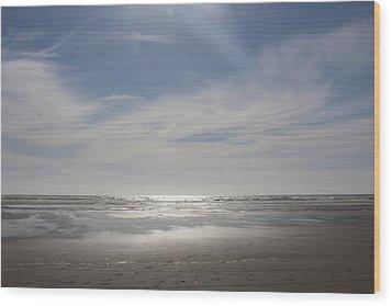 Ocean Shores Wood Print