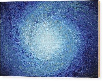 Ocean Storm Wood Print by Daniel Lafferty