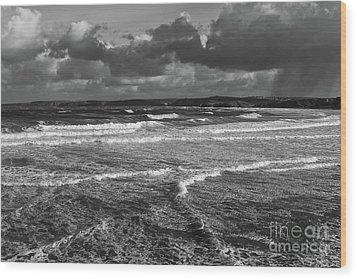 Ocean Storms Wood Print