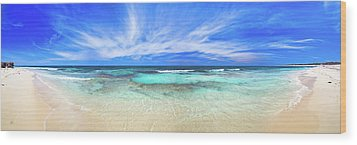 Wood Print featuring the photograph Ocean Tranquility, Yanchep by Dave Catley