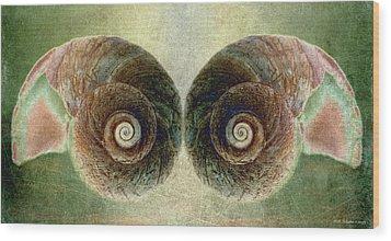 Ocean View Wood Print by WB Johnston