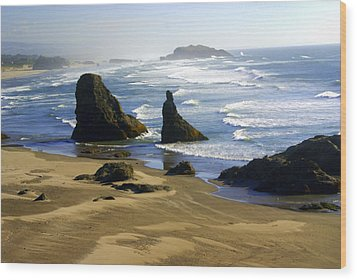 Oceanscape Wood Print by Marty Koch