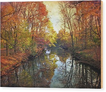 Wood Print featuring the photograph Ode To Autumn by Jessica Jenney
