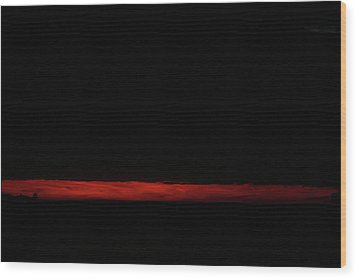 Ode To Rothko Wood Print by Carol Kinkead