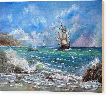 Odessa Wood Print