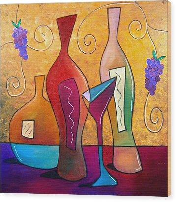 Off The Vine Wood Print by Tom Fedro - Fidostudio