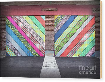 Wood Print featuring the photograph Off The Wall - Double by Colleen Kammerer