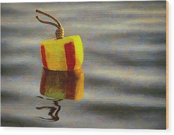 Oh Buoy Wood Print by Jeff Kolker