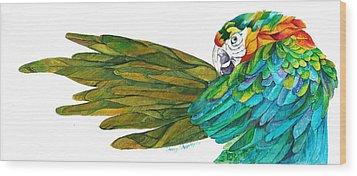 Oh Mya Wood Print