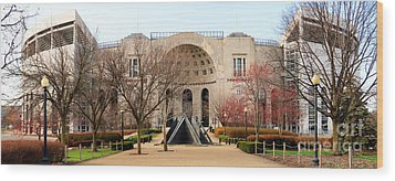 Ohio Stadium Entrance  8955 Wood Print