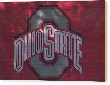 Ohio State Wood Print by Joseph Yarbrough