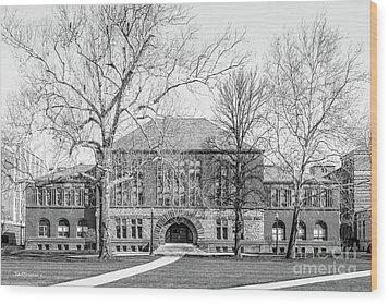 Ohio State University Hayes Hall Wood Print by University Icons