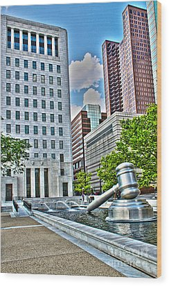 Ohio Supreme Court Wood Print