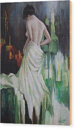 Oil Msc 016 Wood Print