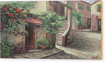Oil Msc 058 Wood Print
