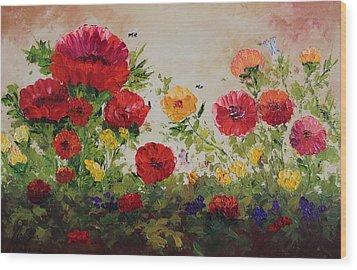 Oil Msc 060 Wood Print