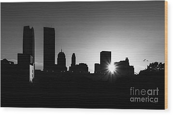 Wood Print featuring the photograph Oklahoma City by Betty LaRue