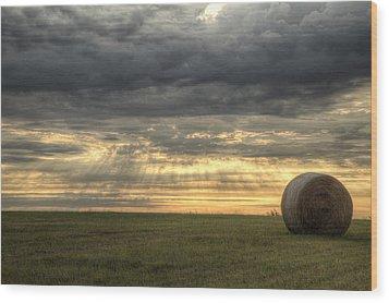 Oklahoma Summers Wood Print