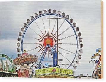 Oktoberfest 2010 Munich Wood Print by Robert Meyers-Lussier