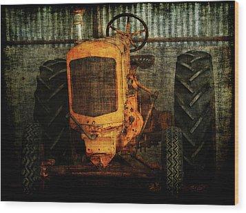 Ol Yeller Wood Print by Ernie Echols