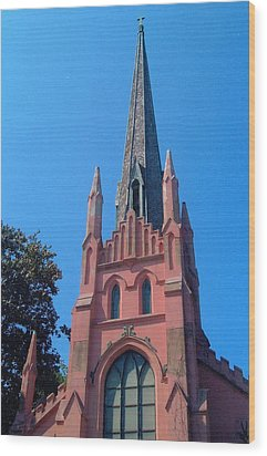 Old Abbeville Church Wood Print by Larry Bishop