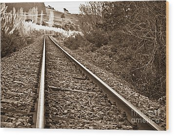Wood Print featuring the photograph Old Abundant Railway by Yurix Sardinelly