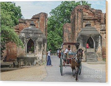Old Bagan Wood Print by Werner Padarin
