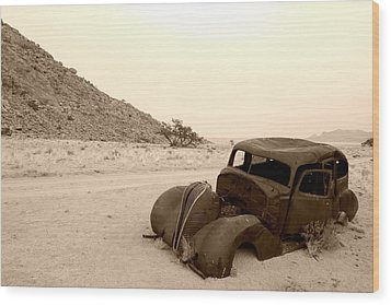 Wood Print featuring the photograph Old Car by Riana Van Staden