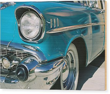 Wood Print featuring the photograph Old Chevy by Steve Karol
