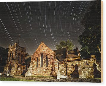 Old Church Wood Print by Edgars Erglis