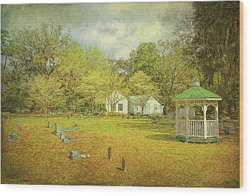 Wood Print featuring the photograph Old Country Church by Lewis Mann