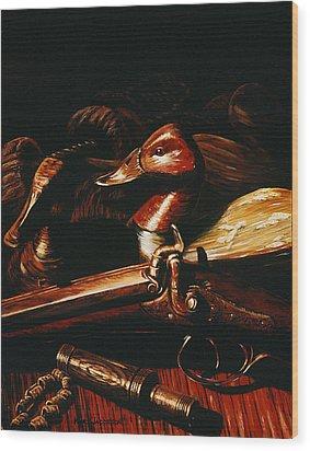 Old Glass Eye Wood Print by Kurt Jacobson