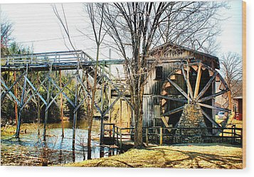 Wood Print featuring the photograph Old Gristmill by Rick Friedle