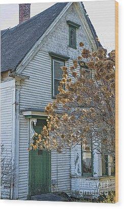 Old Home Wood Print by Alana Ranney