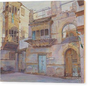 Old Jeddah Wood Print by Dorothy Boyer