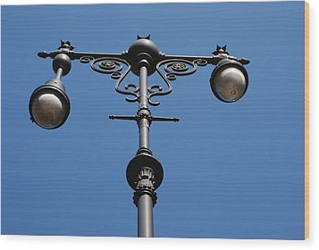 Old Lamppost Wood Print by Rob Hans